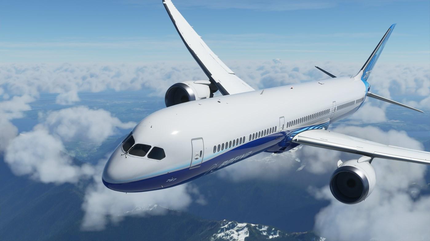 MS Flight Sim Dreamliner