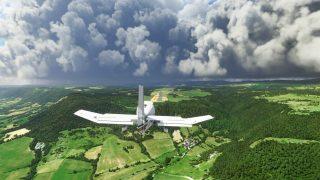 MS flight sim Robin DR400