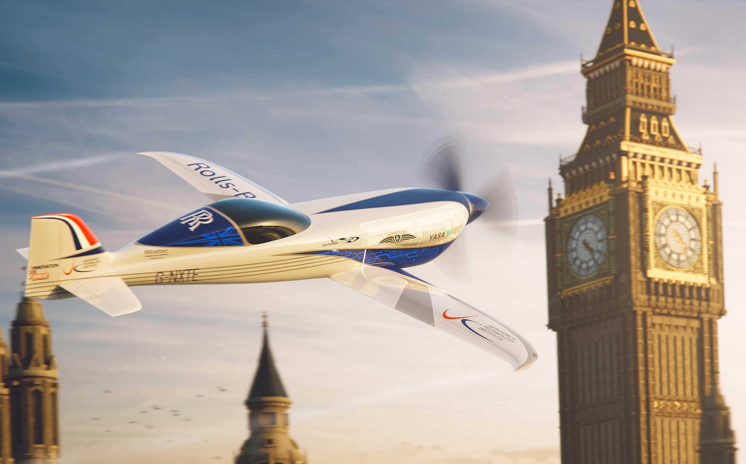 Rolls-Royce ACCEL flying