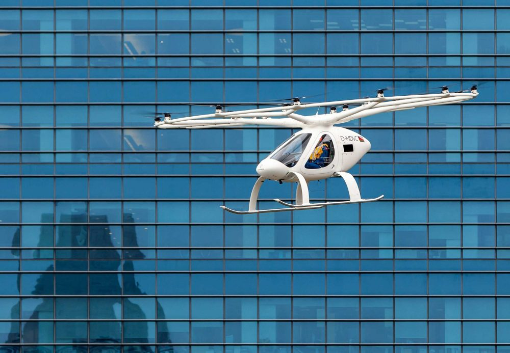 Book a flight on Volocopter
