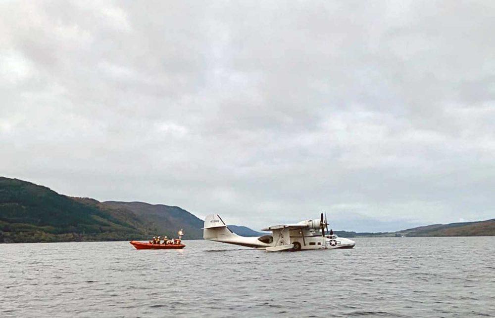 Catalina Loch Ness Rescue