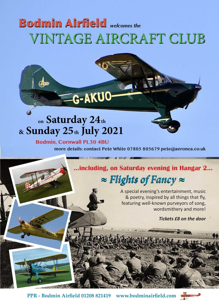 Vintage Aircraft Club fly-in Bodmin