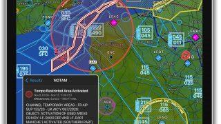 Garmin Pilot graphic notam