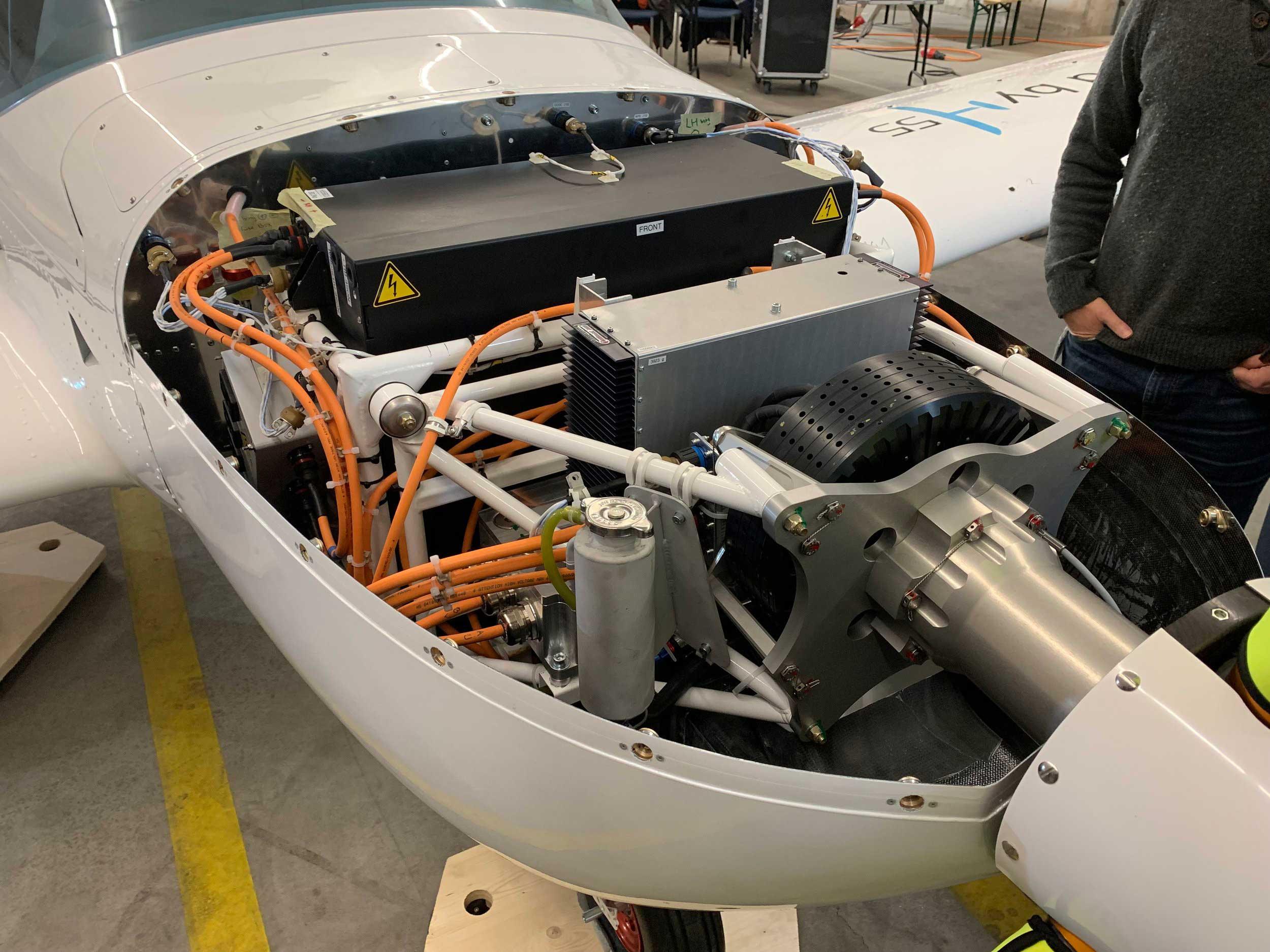 H55 electric aircraft