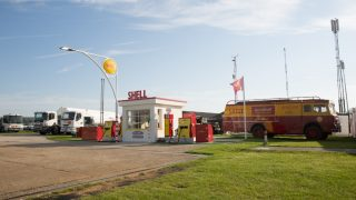 Shell avgas Goodwood