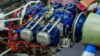 Superior XP-360 engine