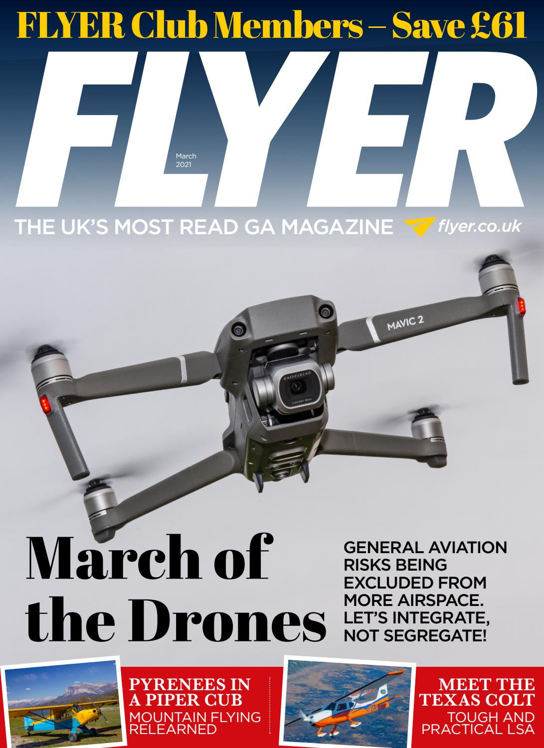 FLYER magazine March 2021