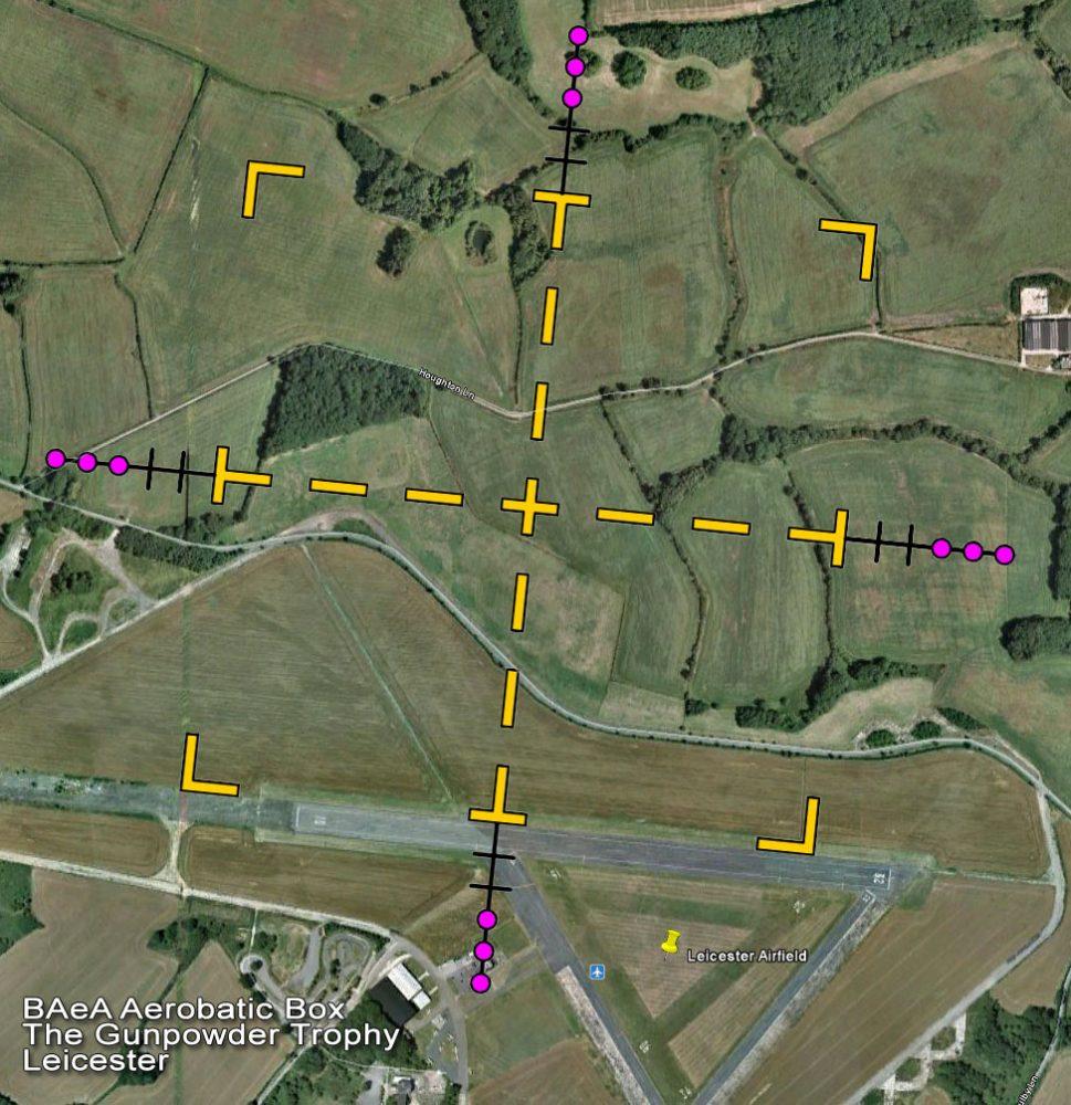 Leicester aerobatics
