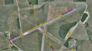 Saltby glider aerobatics