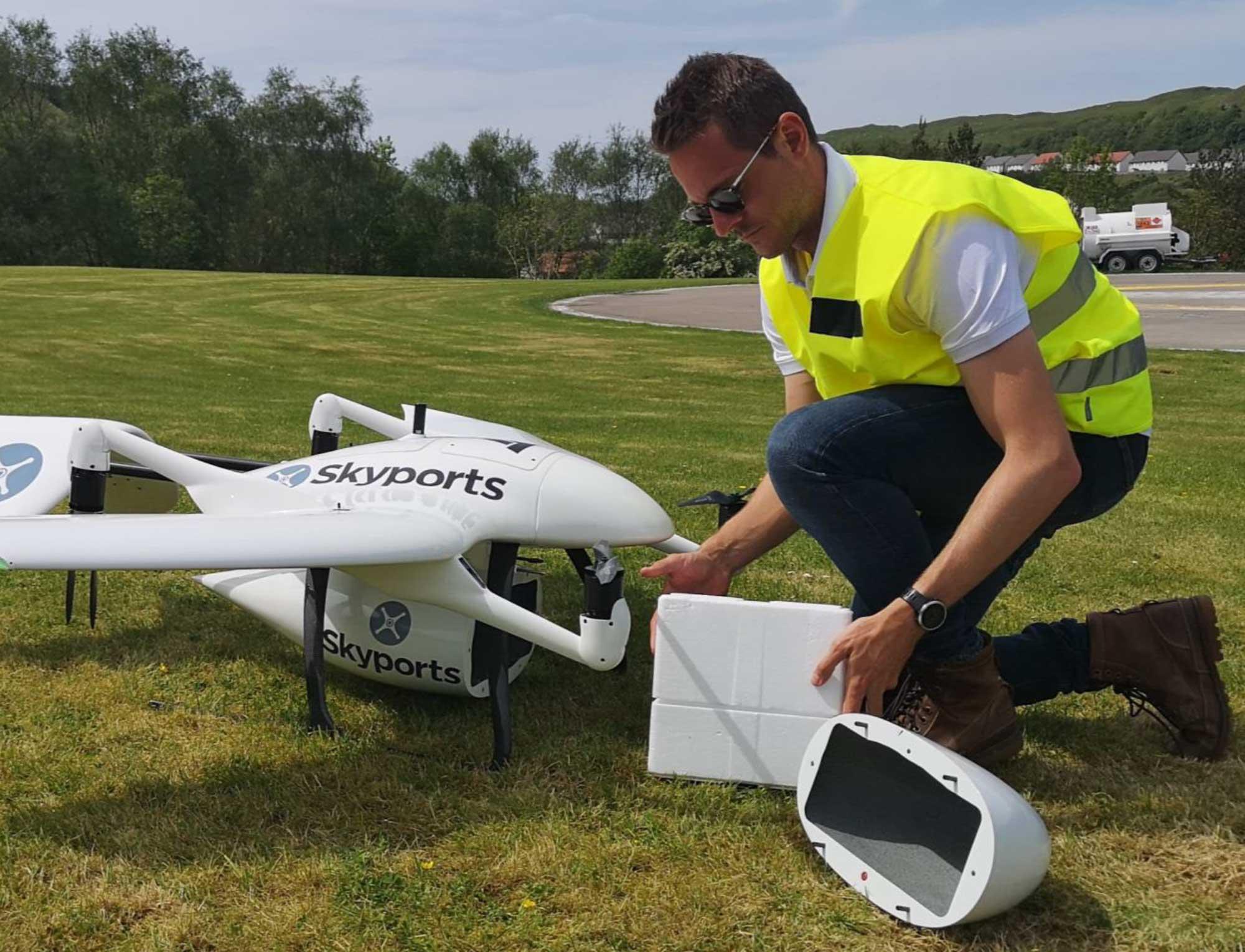 Skyports drone operator