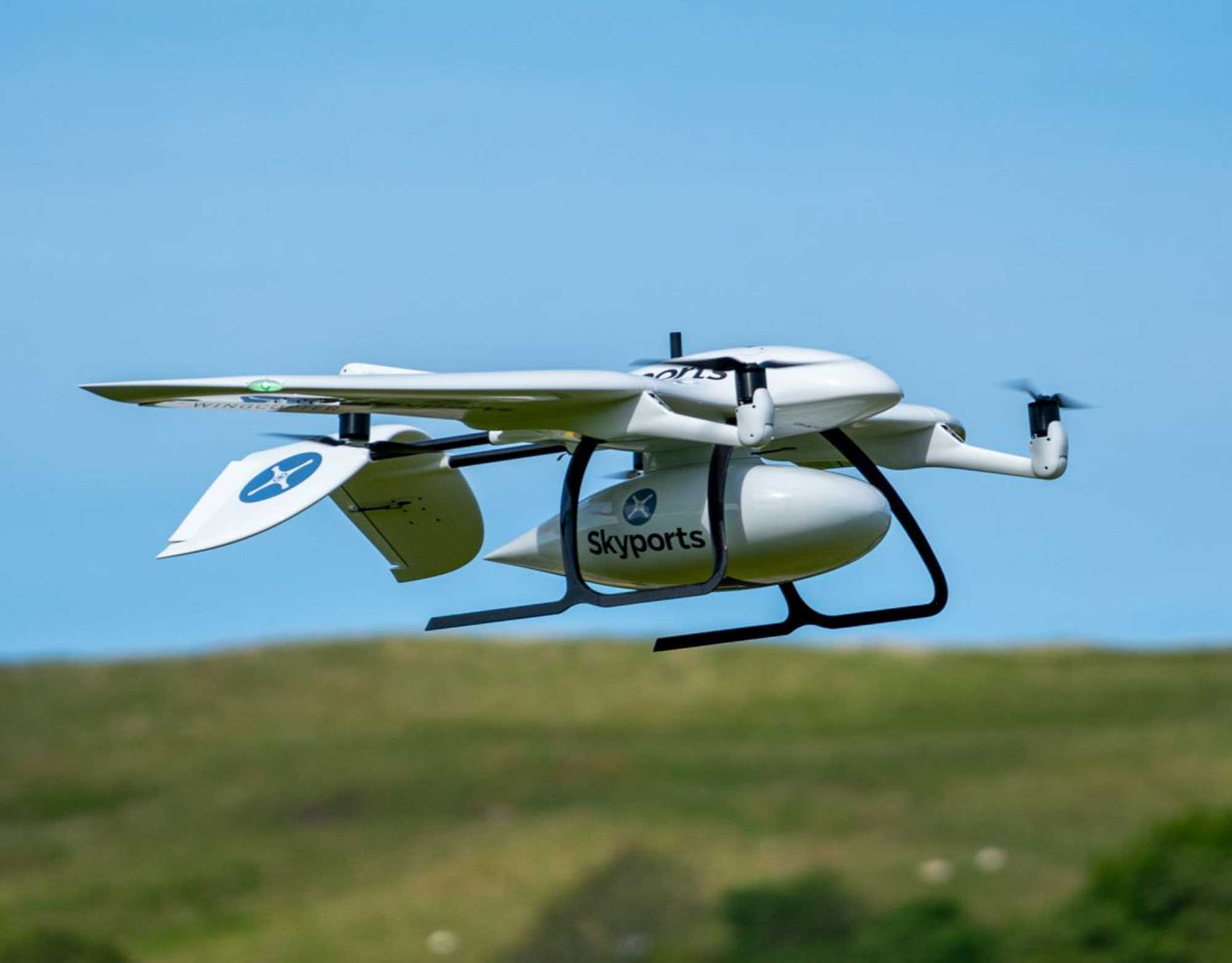 Skyports drone