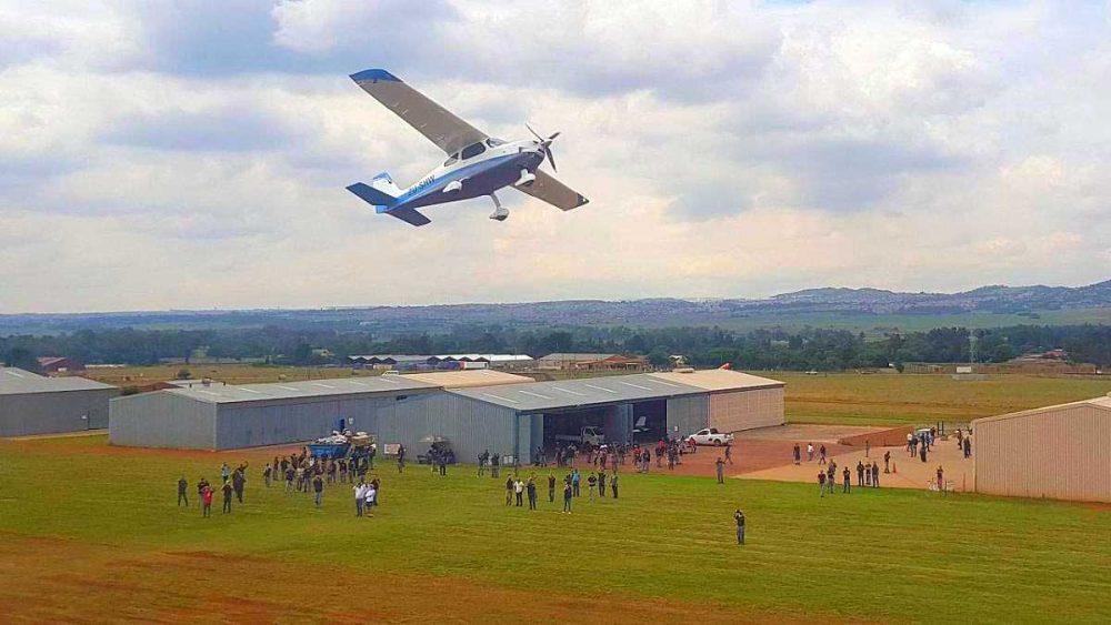 Sling 4 High Wing first flight