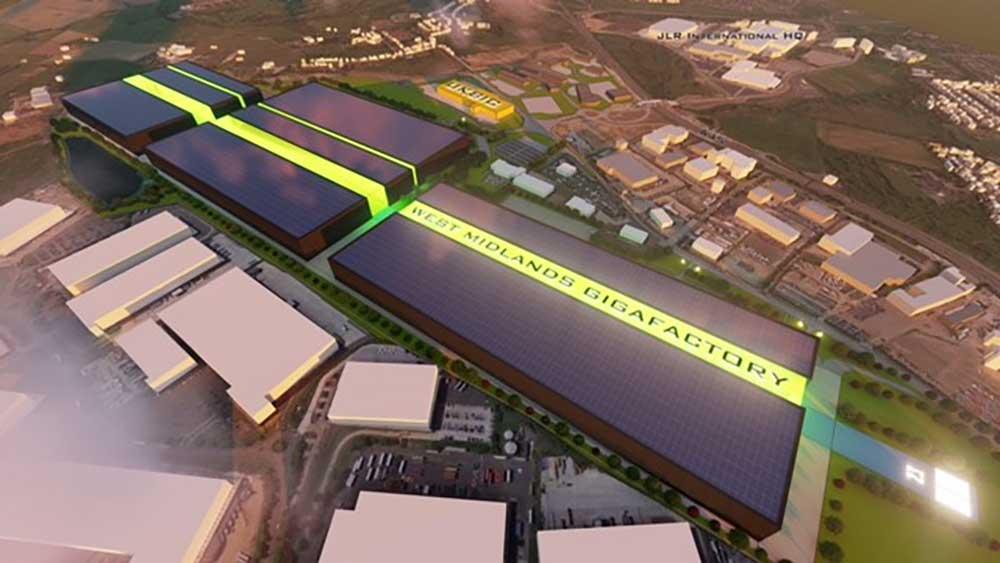 Gigafactory Coventry Airport