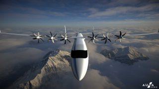Aura Aero electric airliner