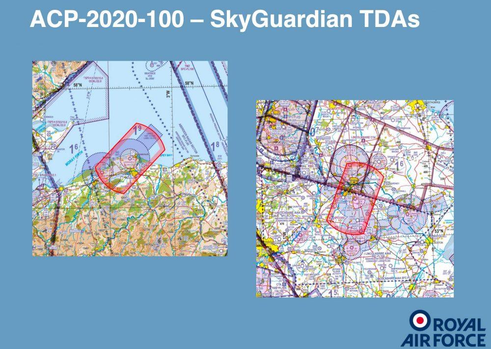 Waddington & Lossiemouth TDAs