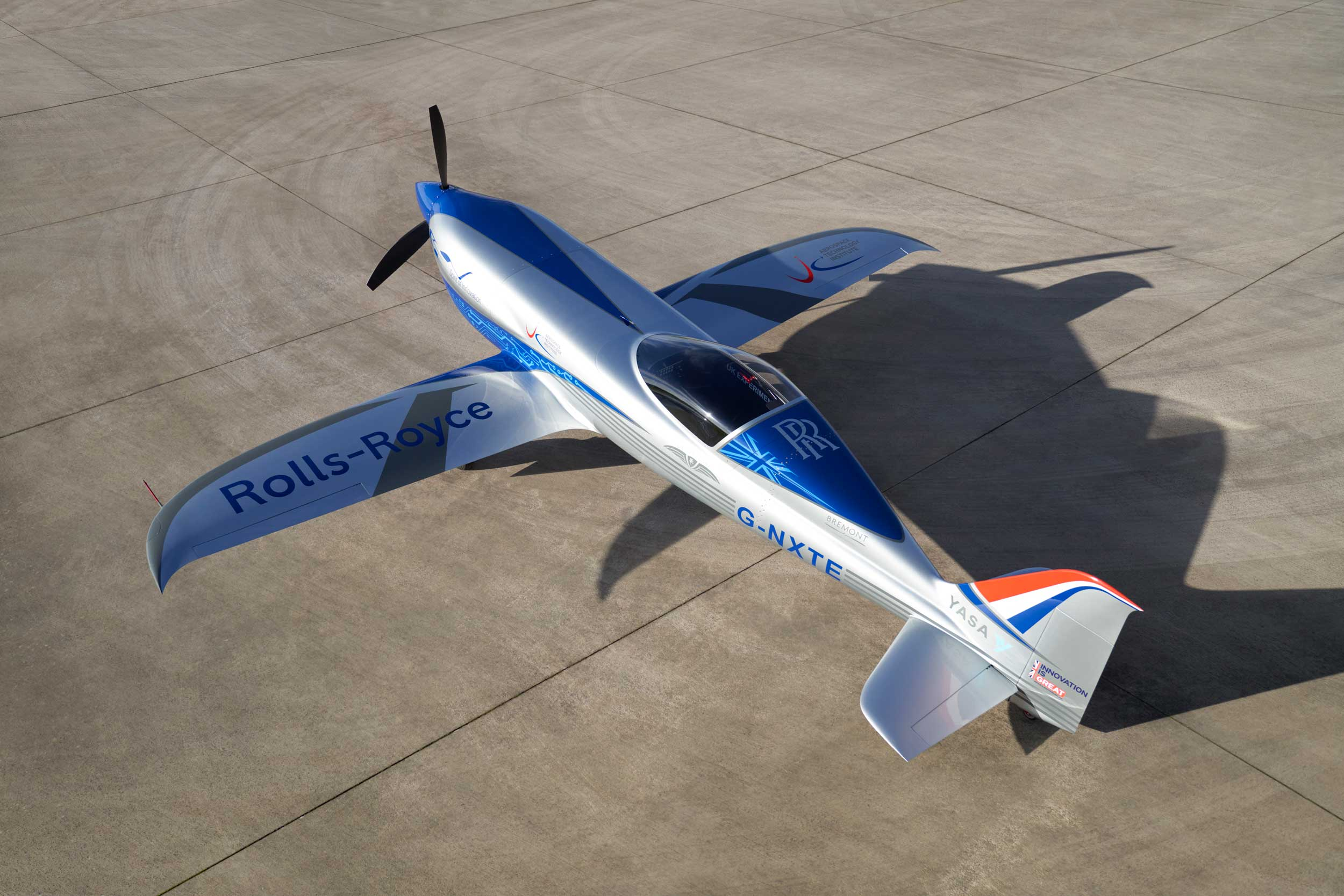 Rolls-Royce electric aircraft