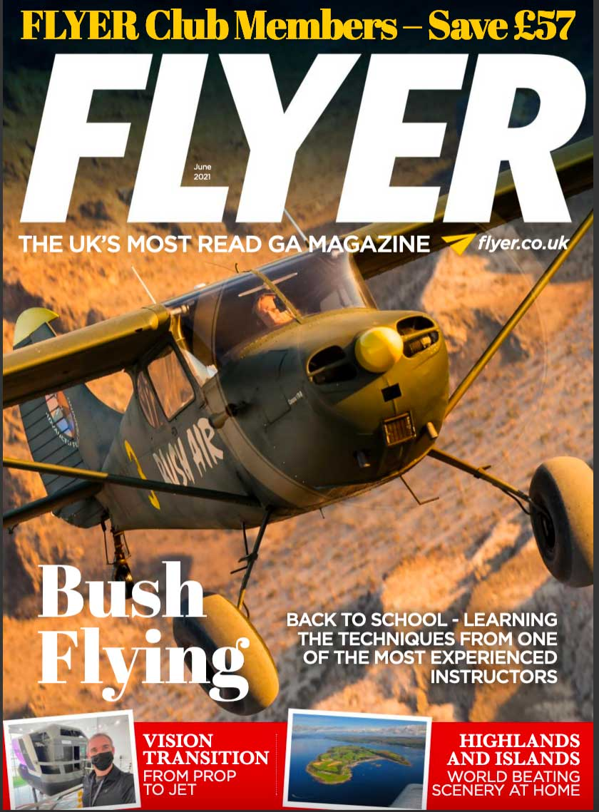FLYER June 2021 cover