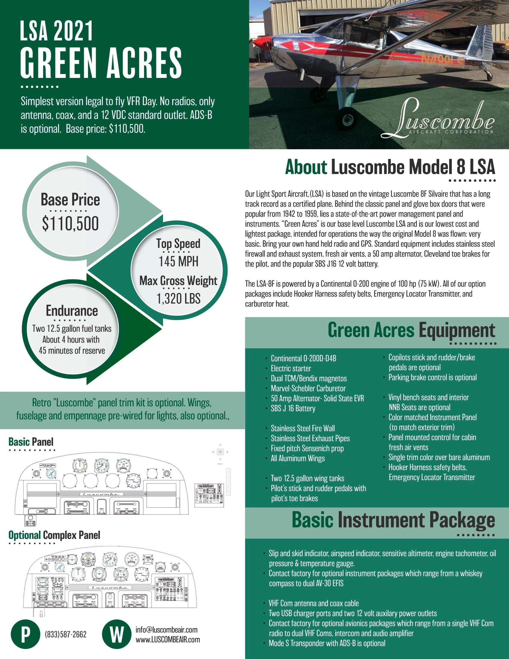Luscombe infographic