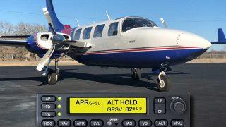 Piper Aerostar S-TEC autopilot