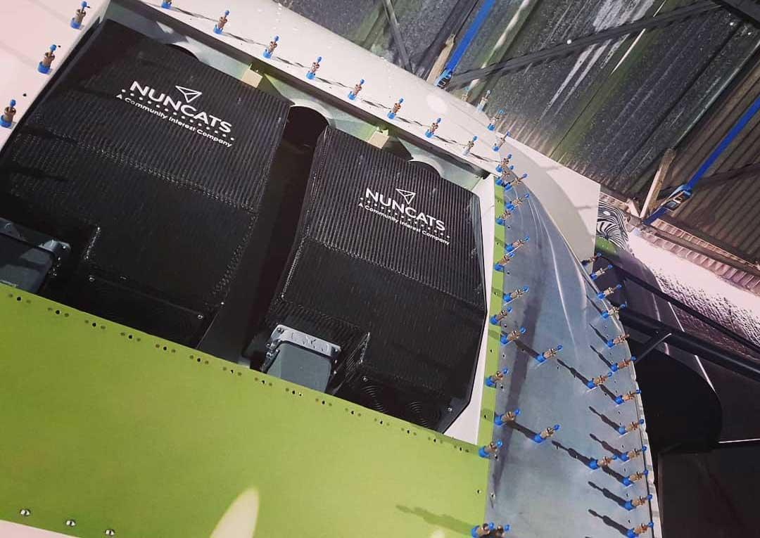 Nuncats electric aircraft