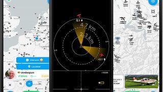 SafeSky traffic app