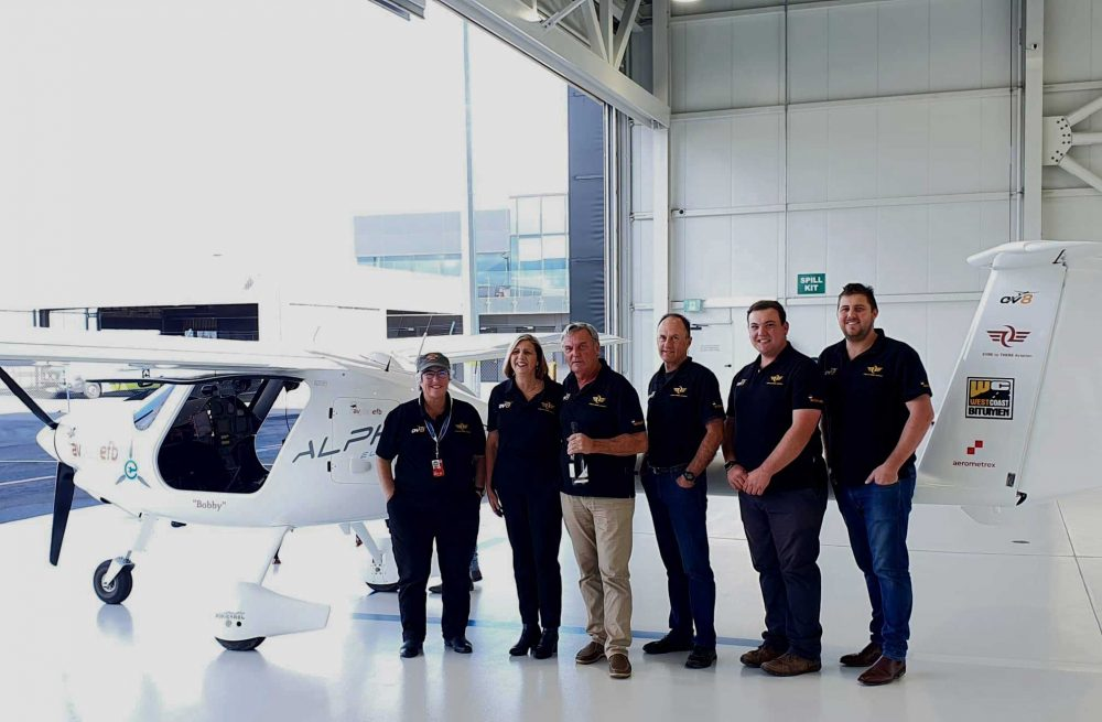 Eyre to There Pipistrel electric record