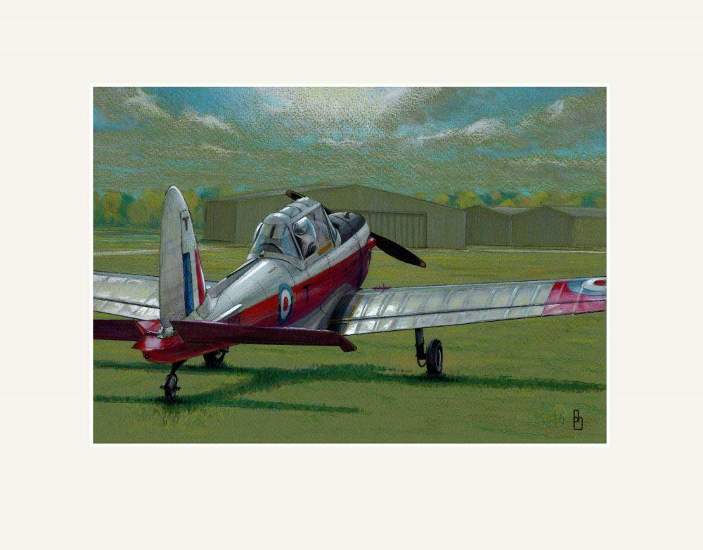 Aviation art exhibition 2021