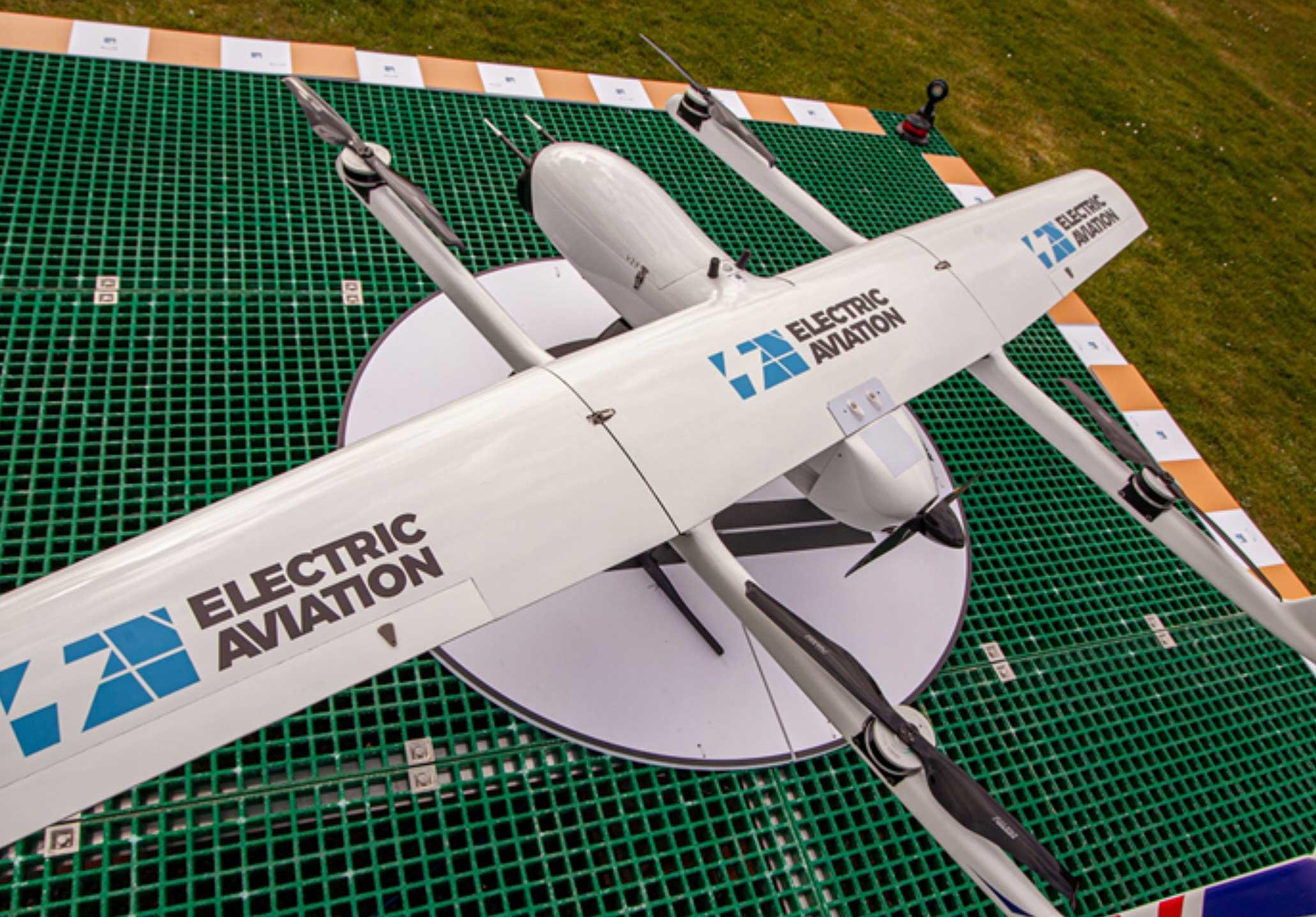 Morecambe Bay drone