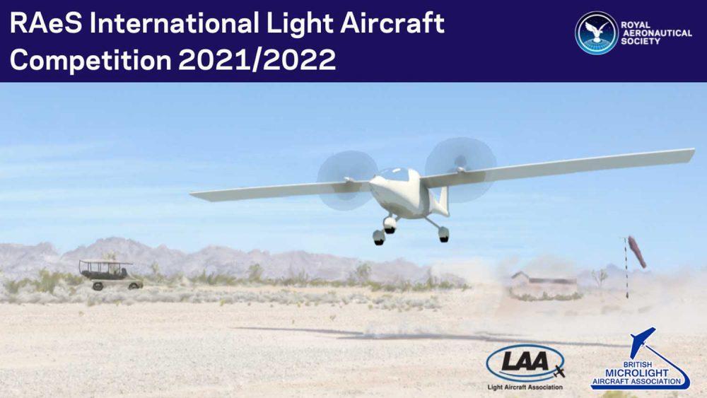 RAeS light aircraft design competition