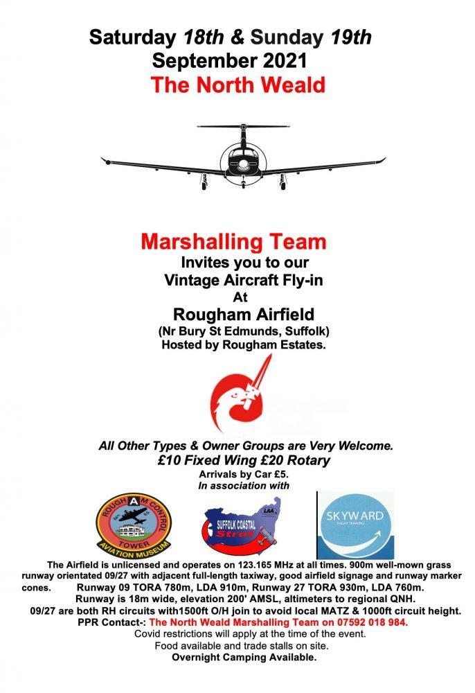 Fly-in Rougham 18-19 September 2021