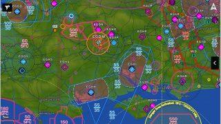 Garmin Pilot European charts