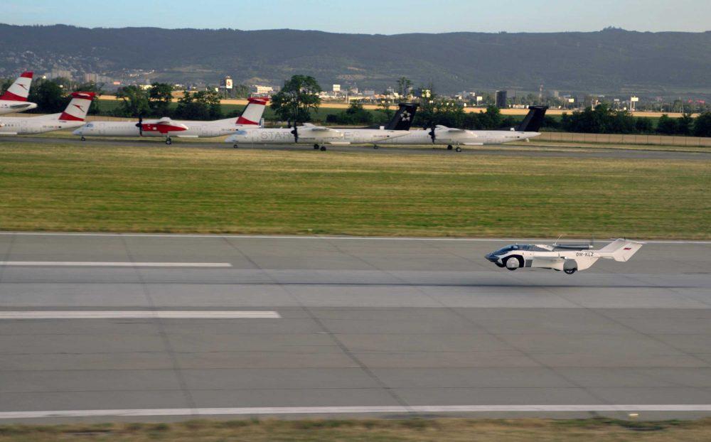 AirCar landing