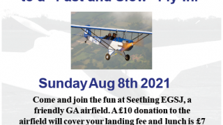 fly-in Seething airfield