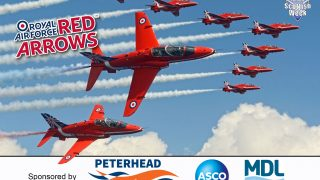 Scottish Week Red Arrows