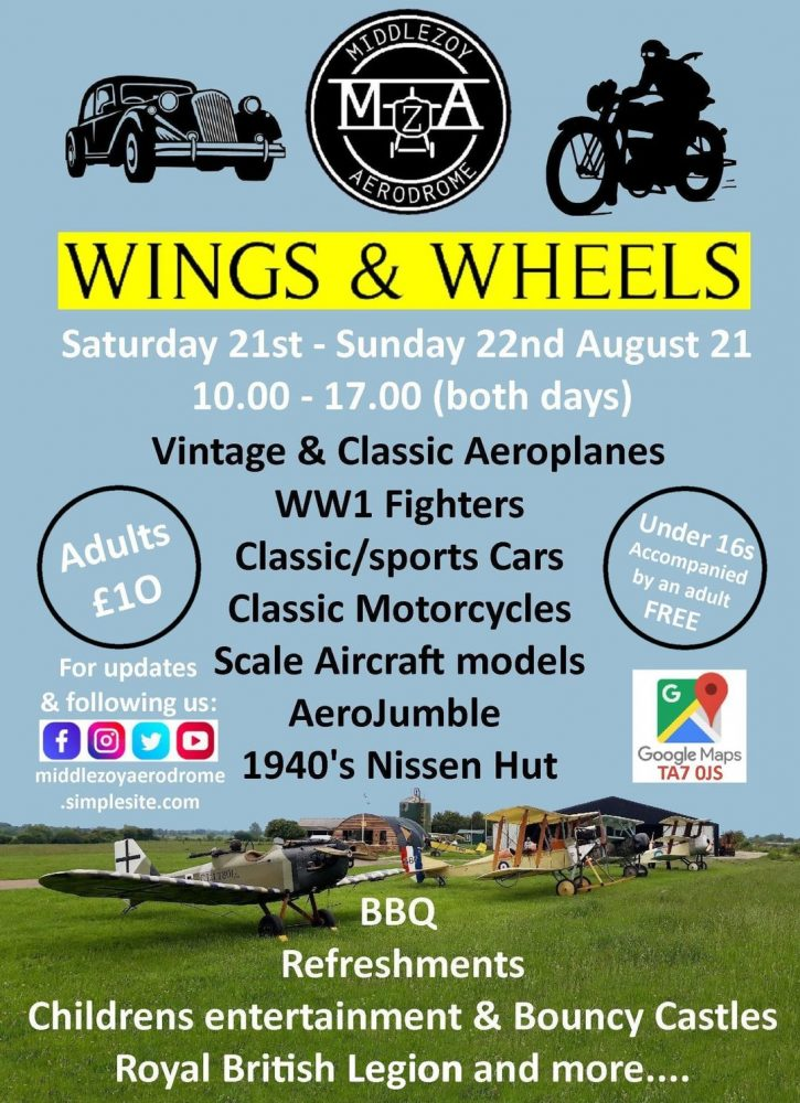 Wings & Wheels Middlezoy