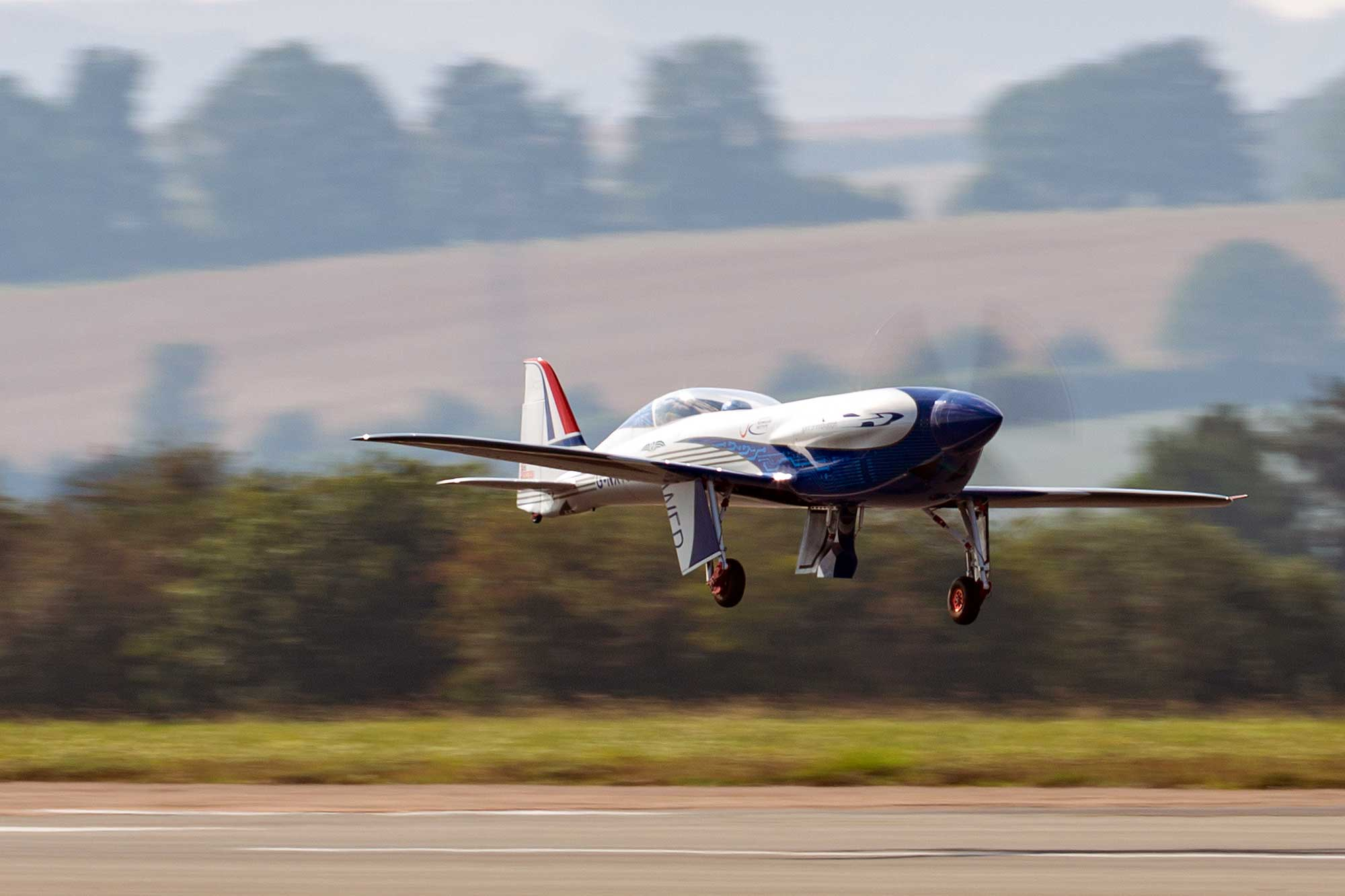 Rolls-Proyce electric aircraft