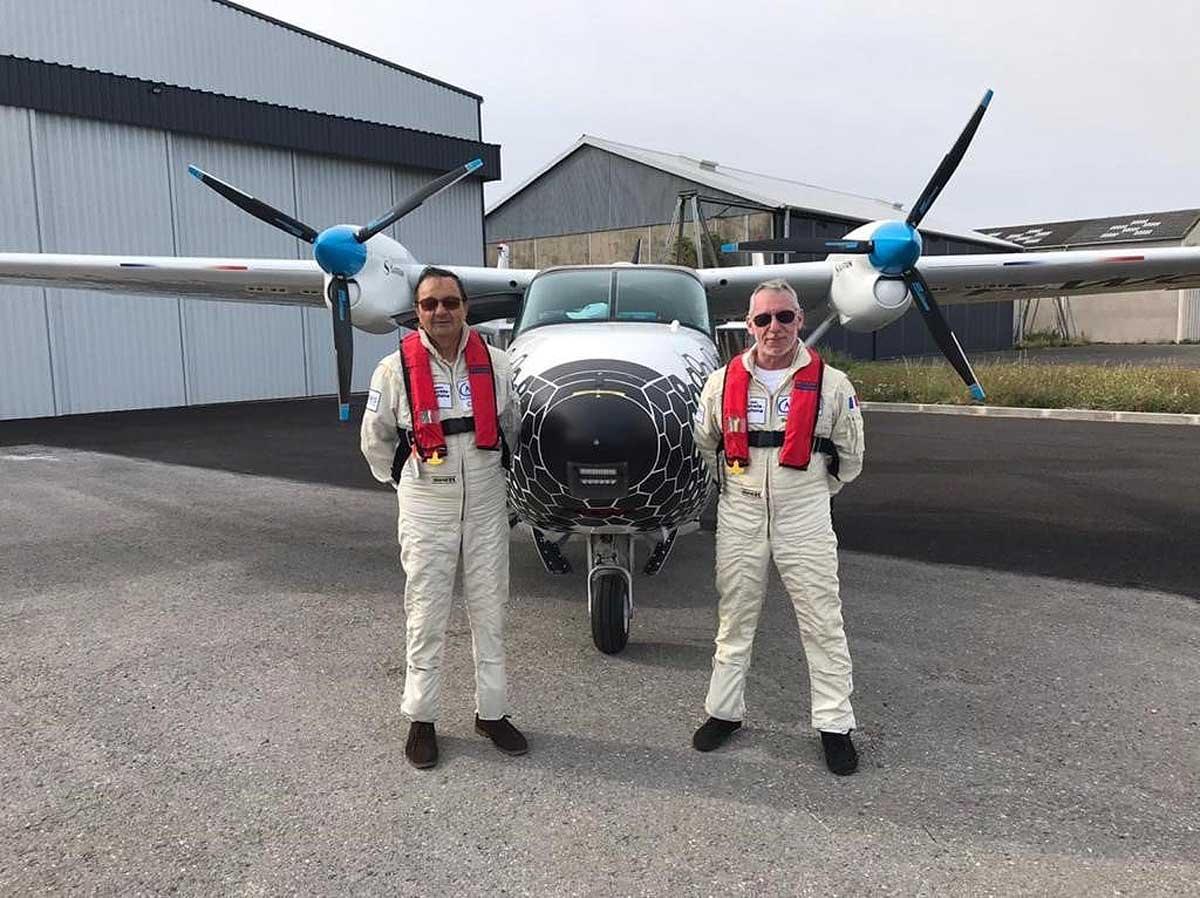 VoltAero test pilots