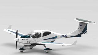 Diamond eDA40 electric aircraft