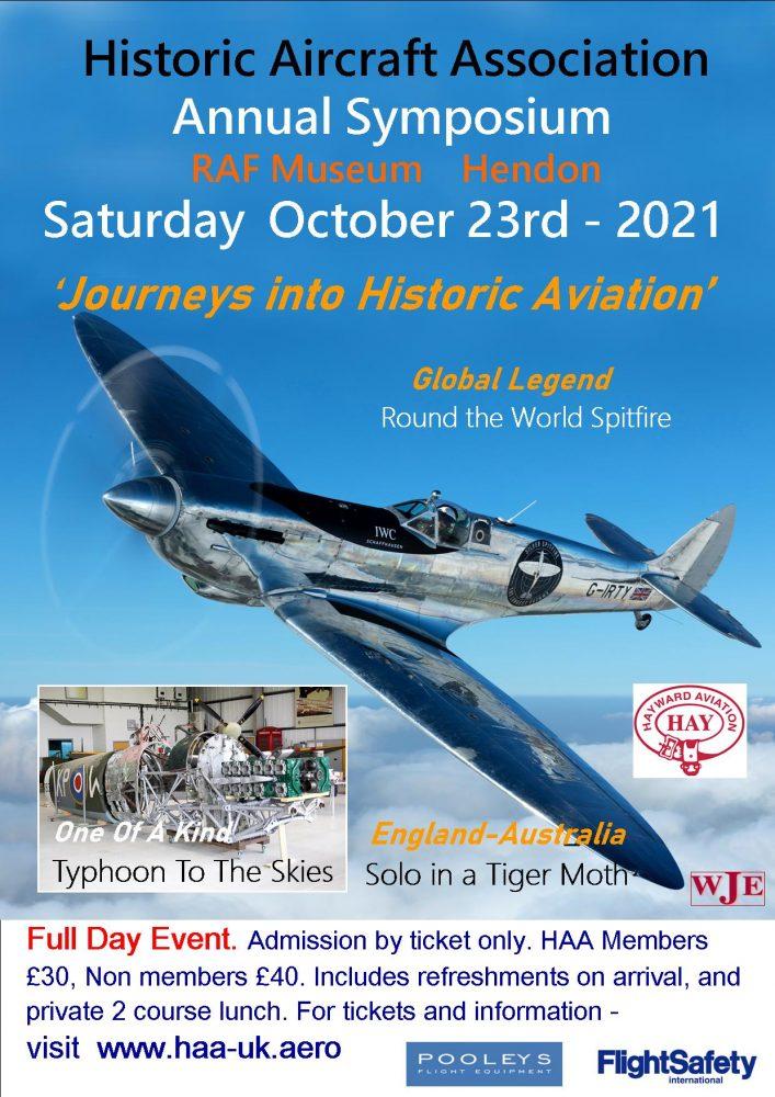 Historic Aircraft Association Symposium 2021