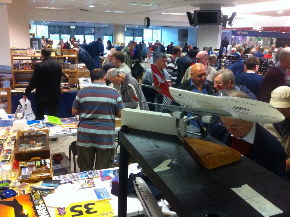 Heathrow aircraft enthusiasts fair
