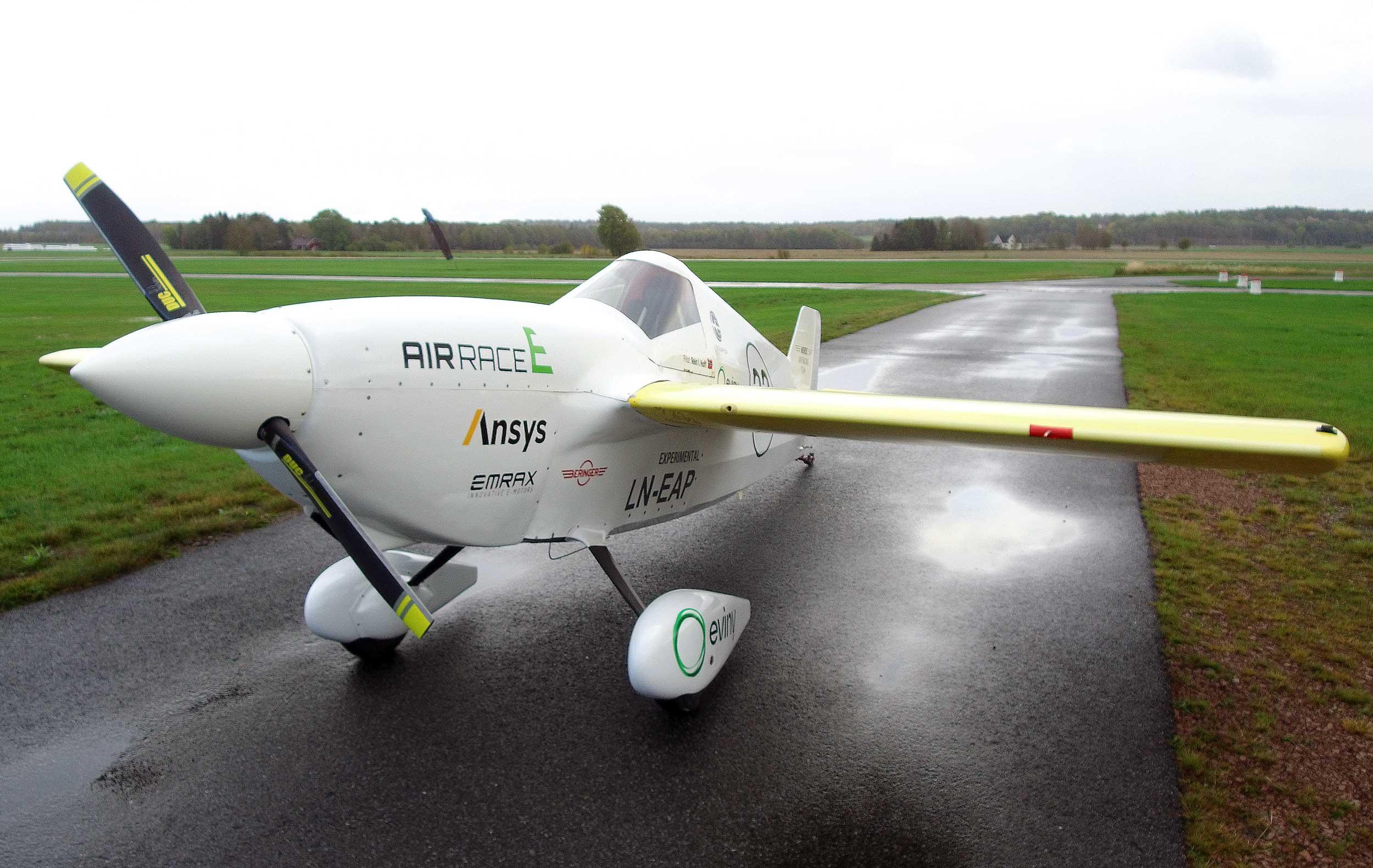 Nordic Air Racing Team electric Cassutt