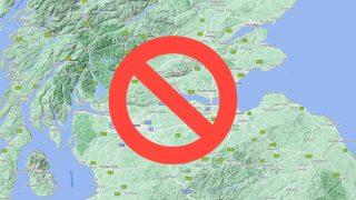 Scotland no entry
