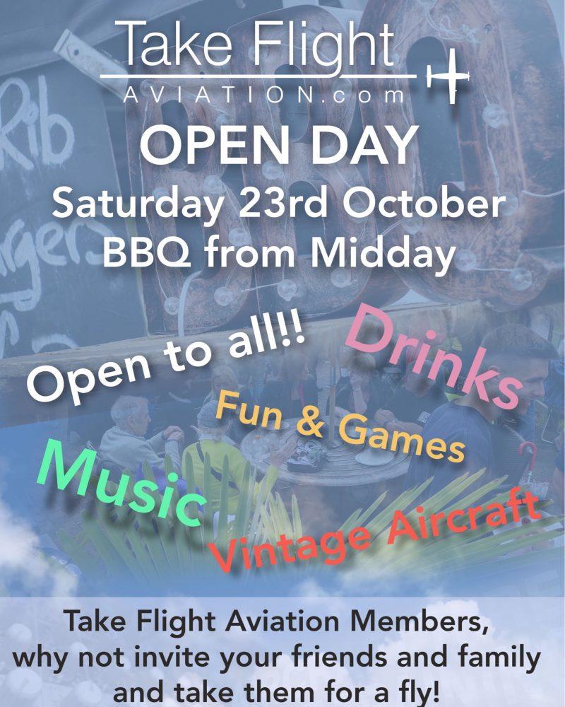 Take Flight Open Day Enstone