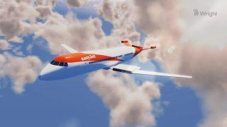 easyJet Wright airliner