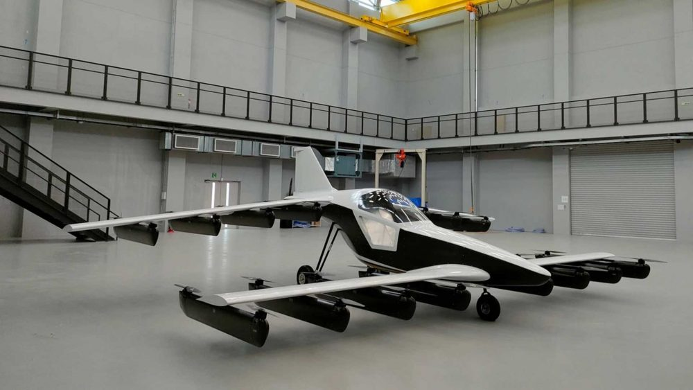 teTra eVTOL kitplane